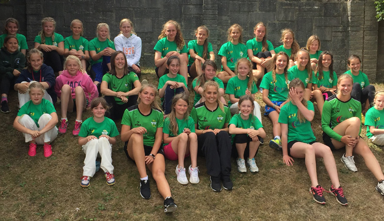Class of 2016 - last year's Western Storm coaching camp at Bovey Tracey was a big success