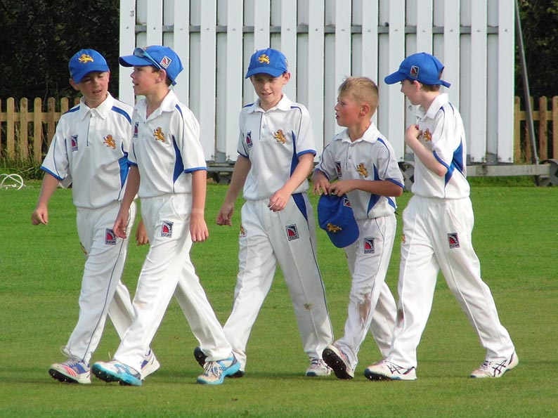 Devon take the field against Dorset at Whimple