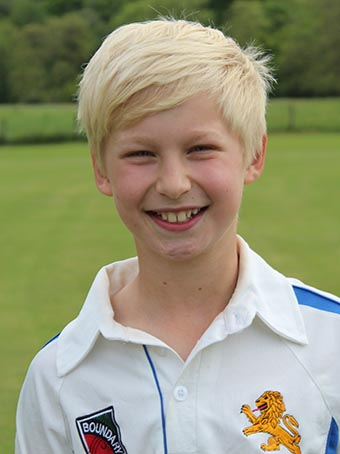 Fin Hill - top scored against Leicestershire