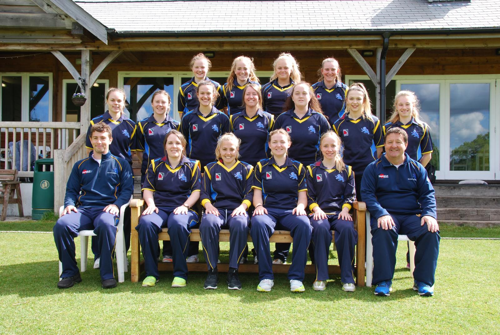 Devon Women 2019 Team