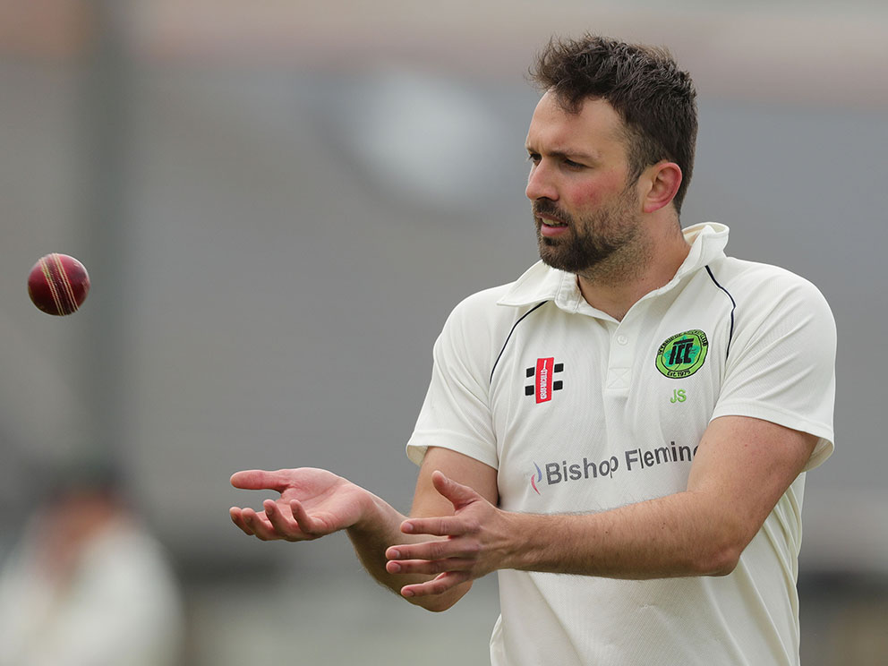 Returning: Seamer James Sharpe, who has rejoined Plymouth CS&R from Ivybridge<br>credit: www.ppauk.com/photo/2124956/