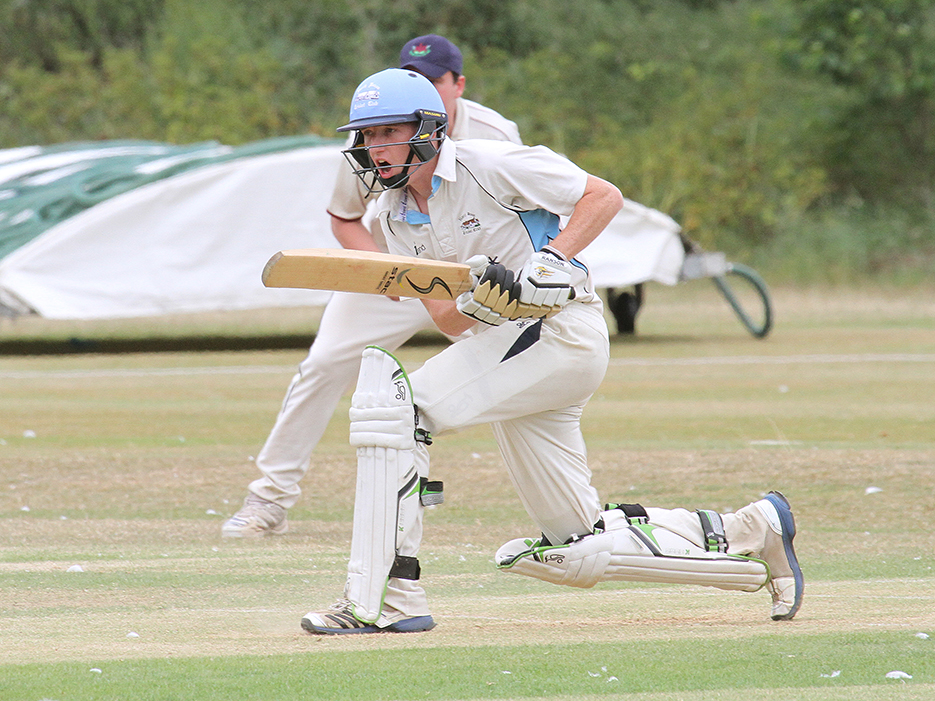 Joe Kelly - scored a ton for North Devon in the win over Ottery