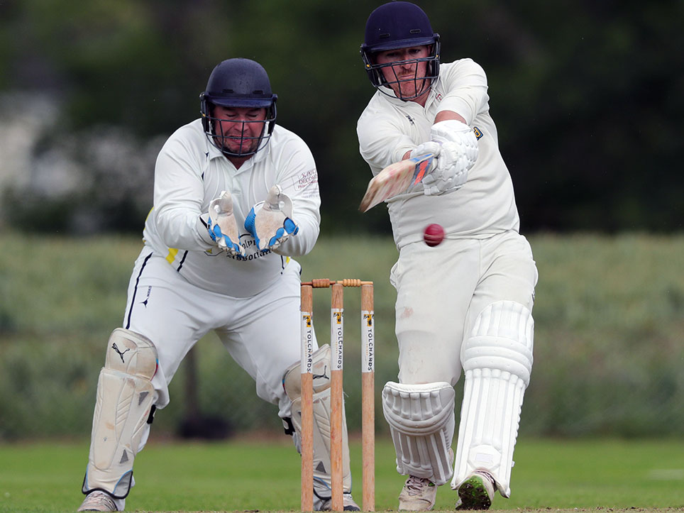 Andy Pitt, back to lead Thorverton against Seaton in the top-of-the-table tussle
