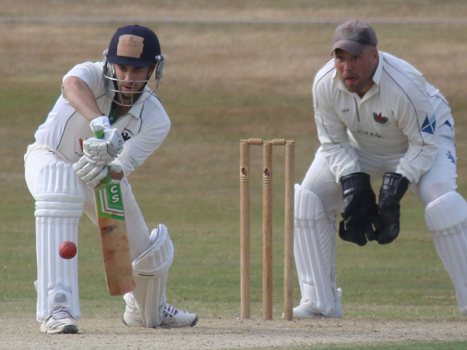 Gary Chappell - big runs for Bradninch against Plympton