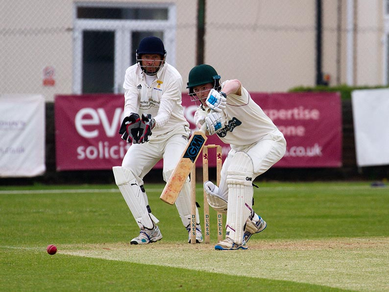 Nick Mansfield - Sidmouth's anchorman against Alphington with 75 at the top of the order