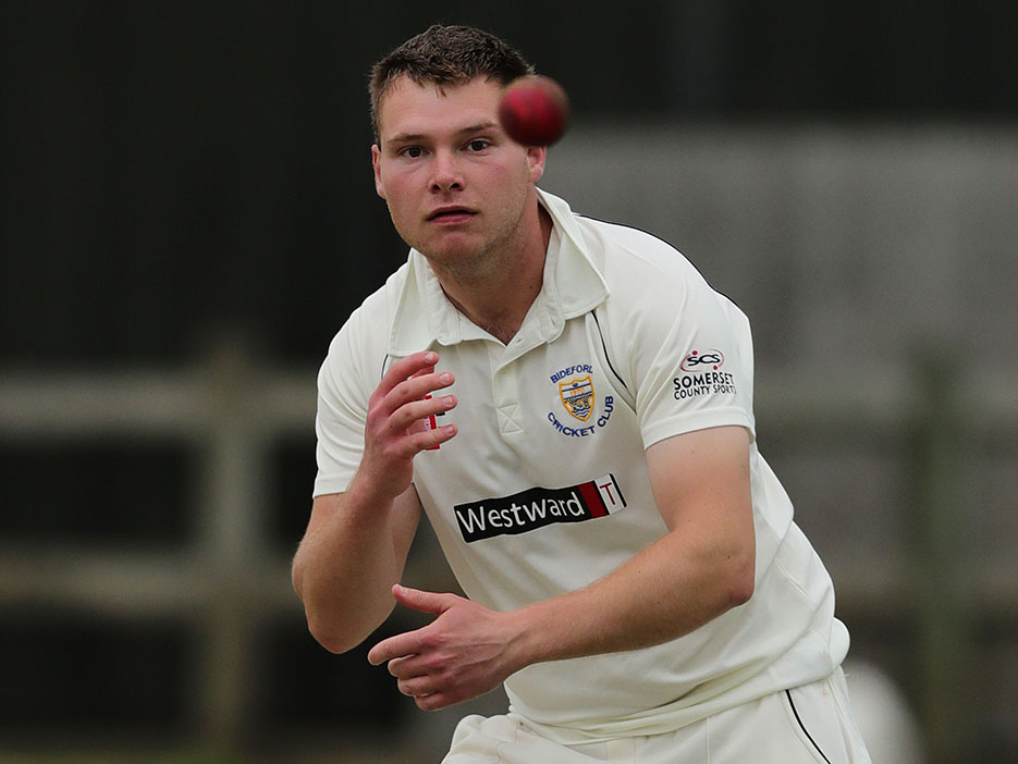 Paul Heard - four wickets for Bideford in the win over Barton
