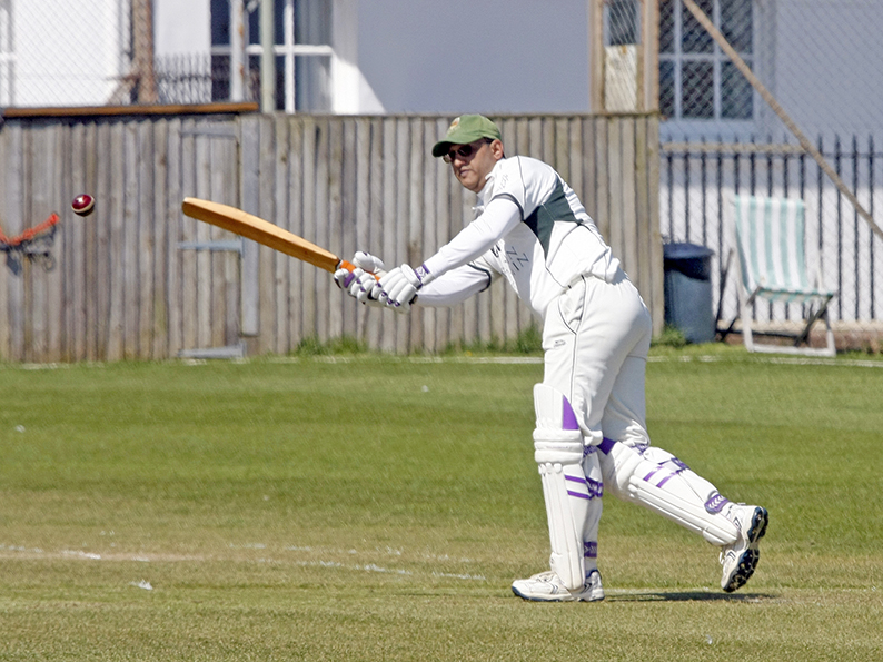 Saj Patidar - top scored with 64 for Sidmouth 3rd XI in the win over Uplyme