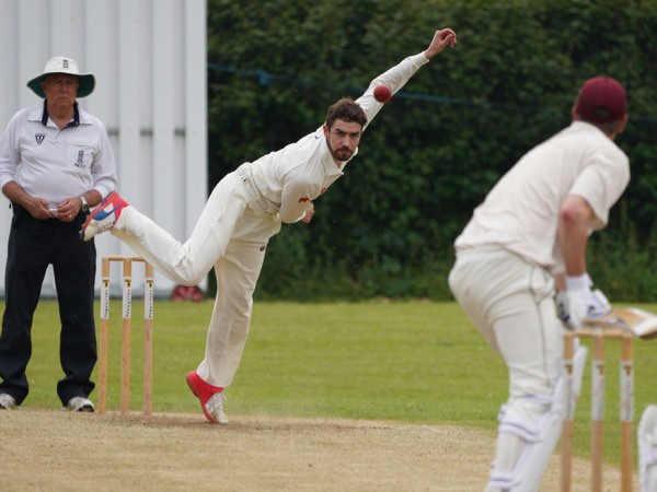 Will Coon - three wickets for Ashburton against Bridestowe
