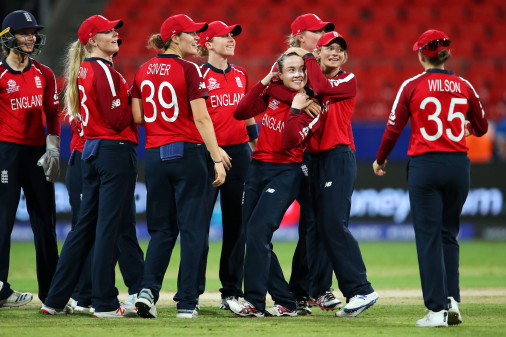Mady Villiers took her maiden World Cup wicket<br>credit: Photo: Getty Images