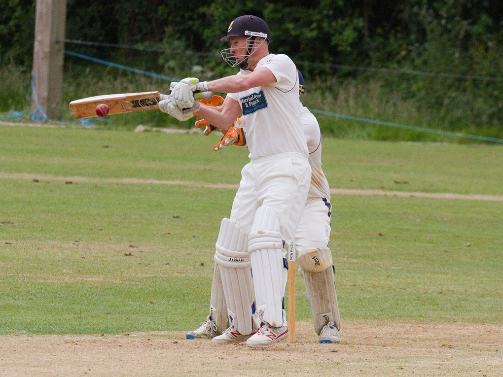 Anthony Griffiths, who scored a century for Sidmouth against former club Ottery