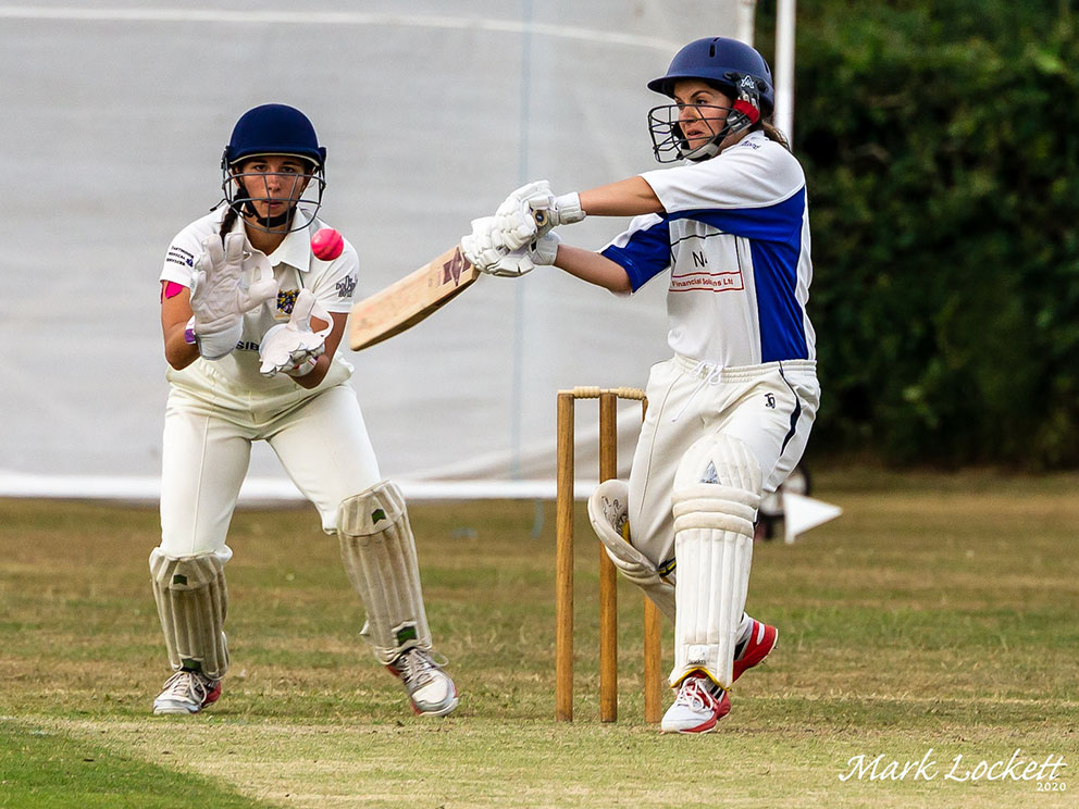 Topsham St James batting against Bovey Tracey<br>credit: https://www.flickr.com/photos/marklucylockett/sets/72157715343793312/with/50183710731/