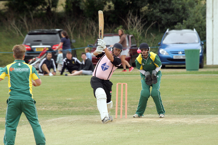 Richard Baggs - runs for Exmouth in their T20 win over Hatherleigh