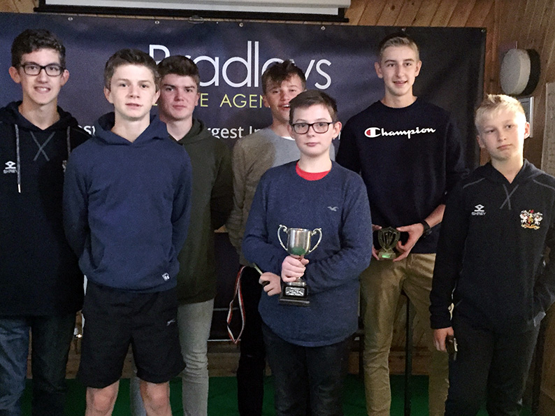 Exeter U14s, who achieved a league and cup double in 2018