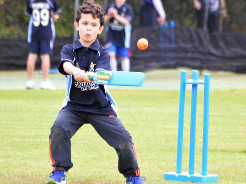 Elliot Mizzen batting for Ipplepen in the festival