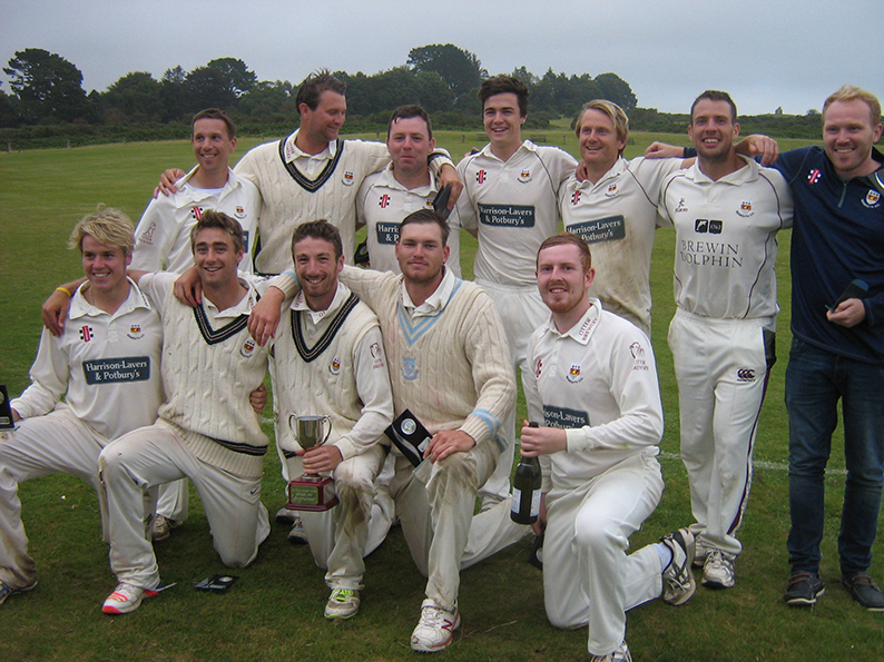 Golden jubilee winners Sidmouth after defeating Exeter