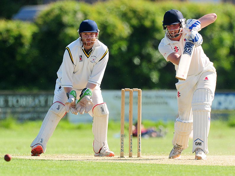 Dan Wolf - made runs for Paignton in the win over Bideford