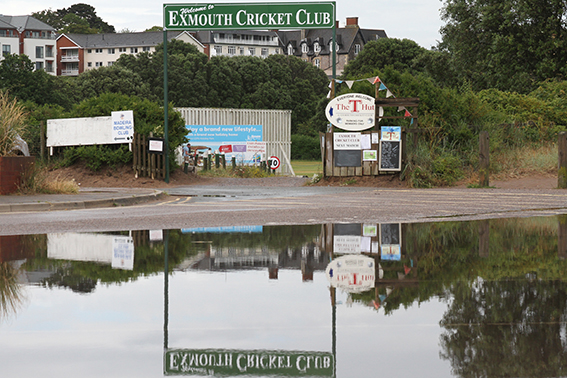 No play today at Exmouth