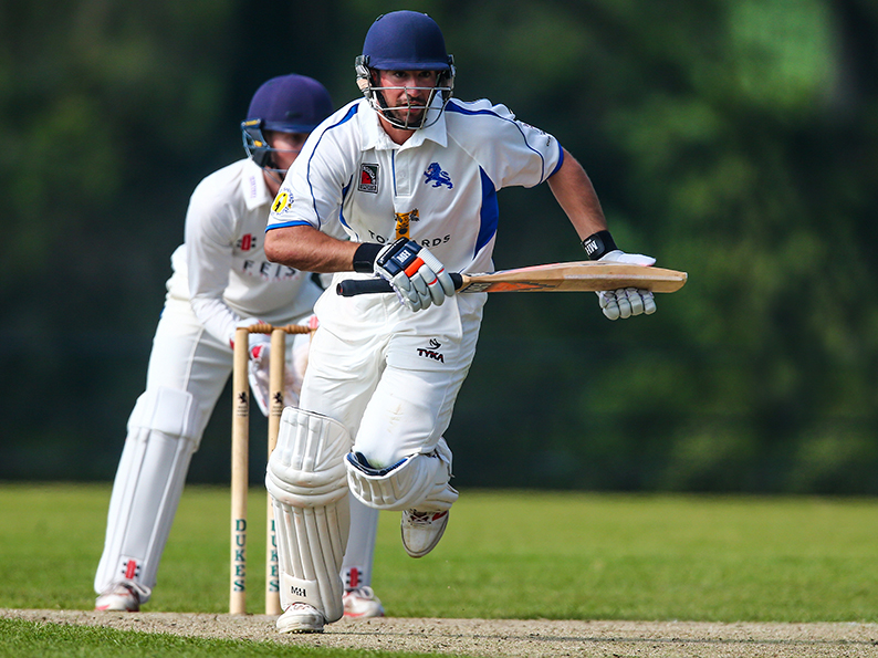 Moving on - Former Somerset batsman Alex Barrow, who has moved to Sidmouth
