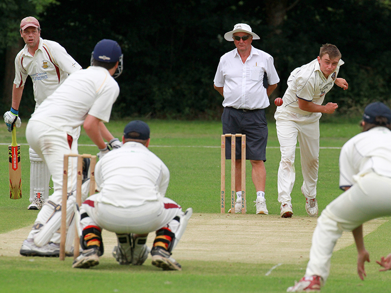 Ben Kidson, who was among the wickets for Honiton