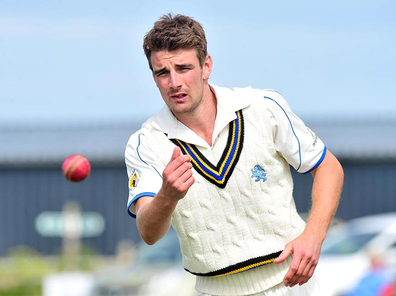 Josh Bess - over and out for the Devon captain
