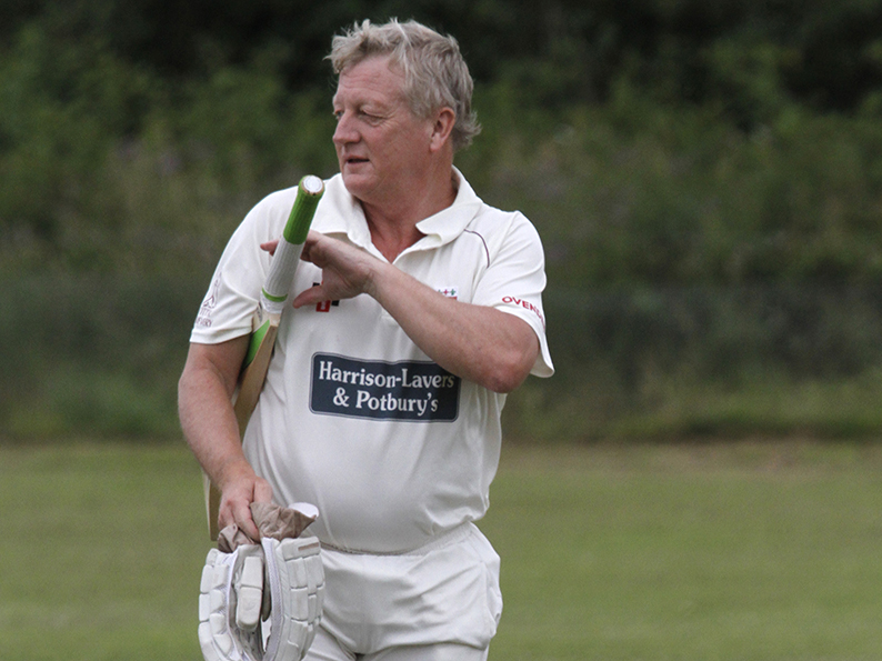 Graham Munday - runs and wickets for F East champions Sidmouth III in their win over Bradninch II