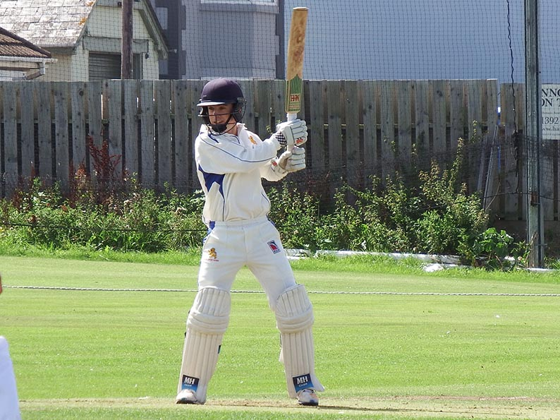 Joe Du'Gay - top scored for Devon U14s against Cornwall