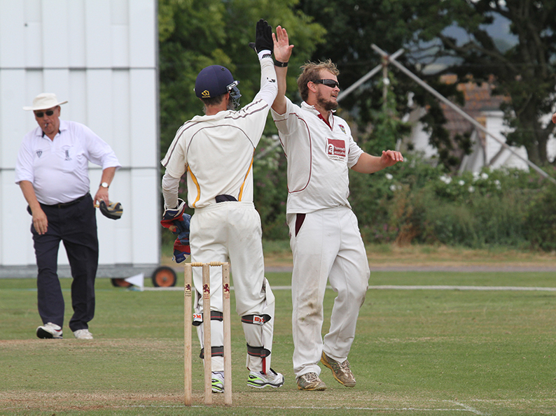 Joel Seward - will he take wickets for Seaton against Shobrooke Park