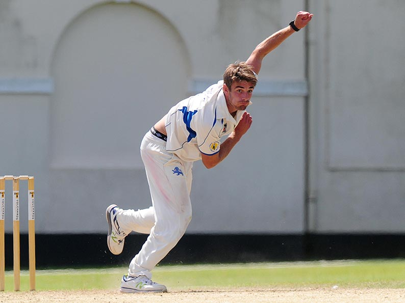 Josh Bess - finished Dorset off with a five-wicket haul