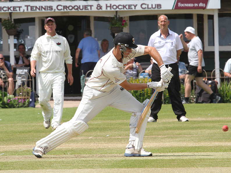 Josh Bess - collected a century for Sidmouth in their win over Exmouth