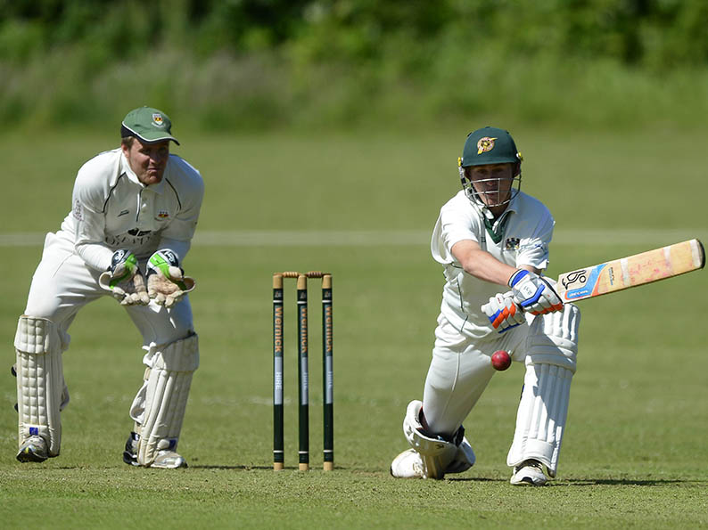 FLASHBACK: It's 2013 at Mount Wise and Marnus Labuschagne is on his way to 87 not out against Sidmouth. Plymouth (220-4) won the match by one run