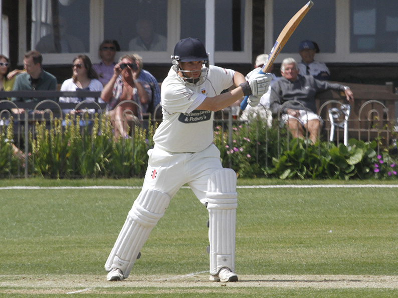 Matt Hewer- top scored for Seaton at Babbacombe