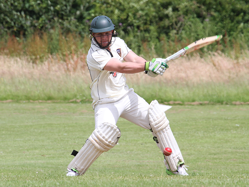 Mike Docherty - runs and wickets for Honiton against Axminster