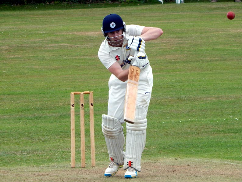 Mitch Pugh - whose ton and seven-wicket haul helped Torquay scupper Cornwood last time out