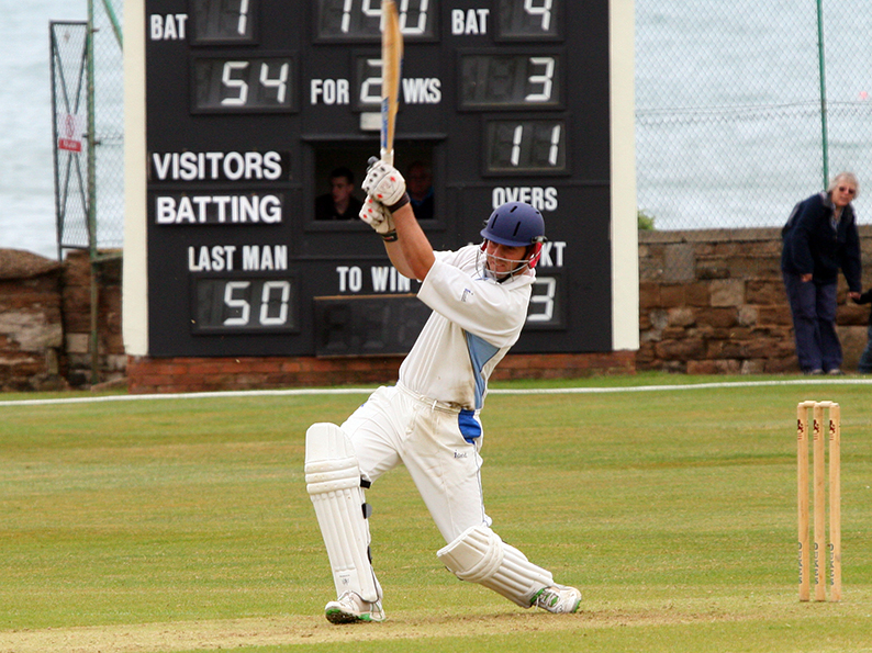 Neil Bettis - runs in a hurry for Sandford against Plymstock