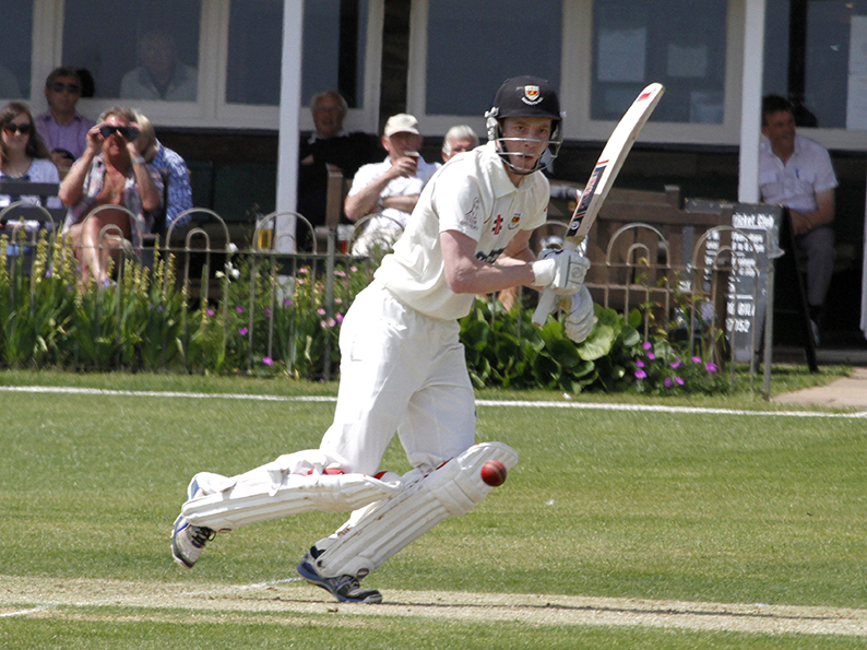 Nick Mansfield - hit 53 for Sidmouth 2nd XI in their win over Budleigh Salterton