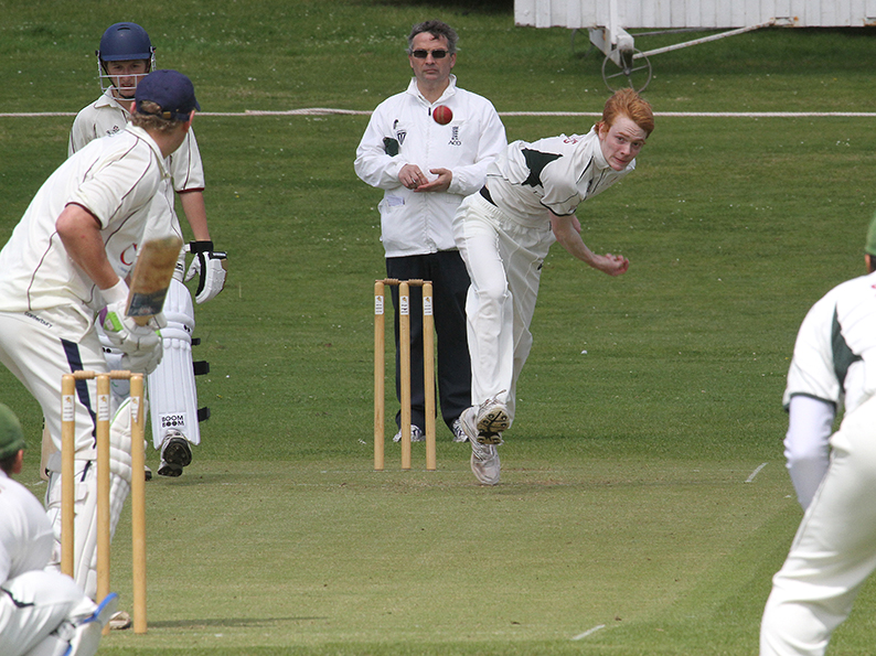 Nick Mansfield - picked up wickets for Sidmouth in their win over Plymouth