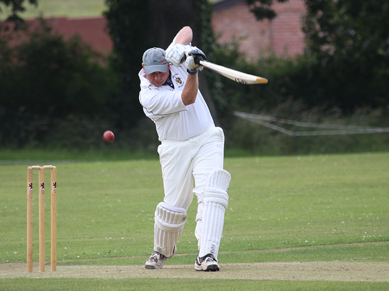 Paul Miller - scored a century for Axminster against H&SP