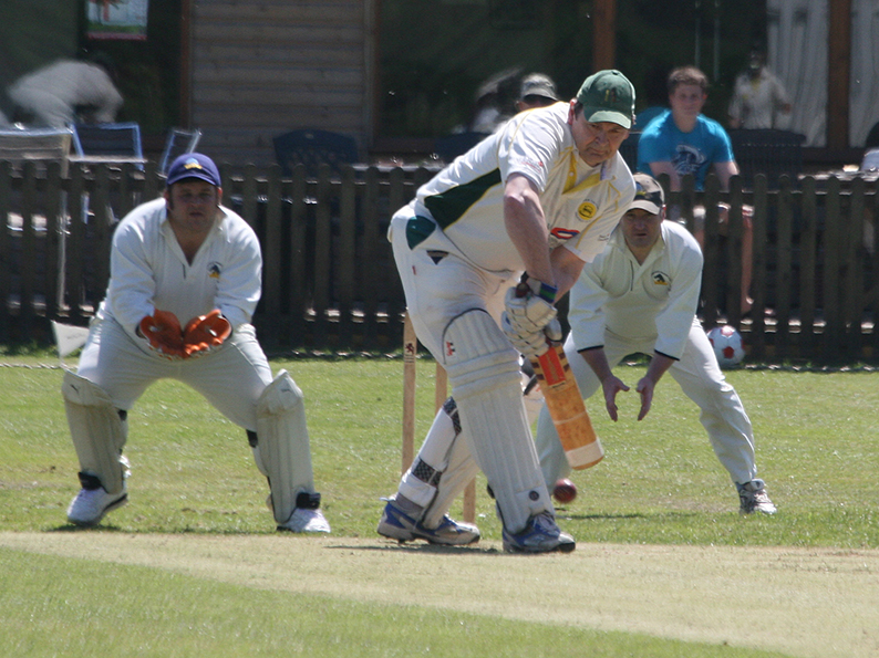 Rob Newing who hit 40 for Devon 60s in the defeat by Gloucestershire at Sidmouth