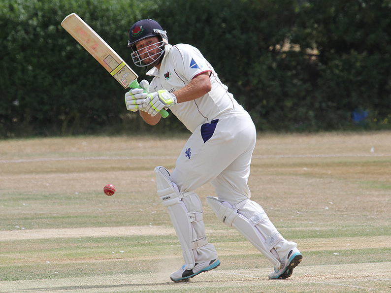 Sandy Allen - led the way for Exmouth against North Devon with 67