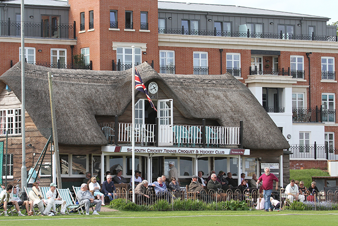 Sidmouth - venue for Sunday's Servicemaster T20 finals