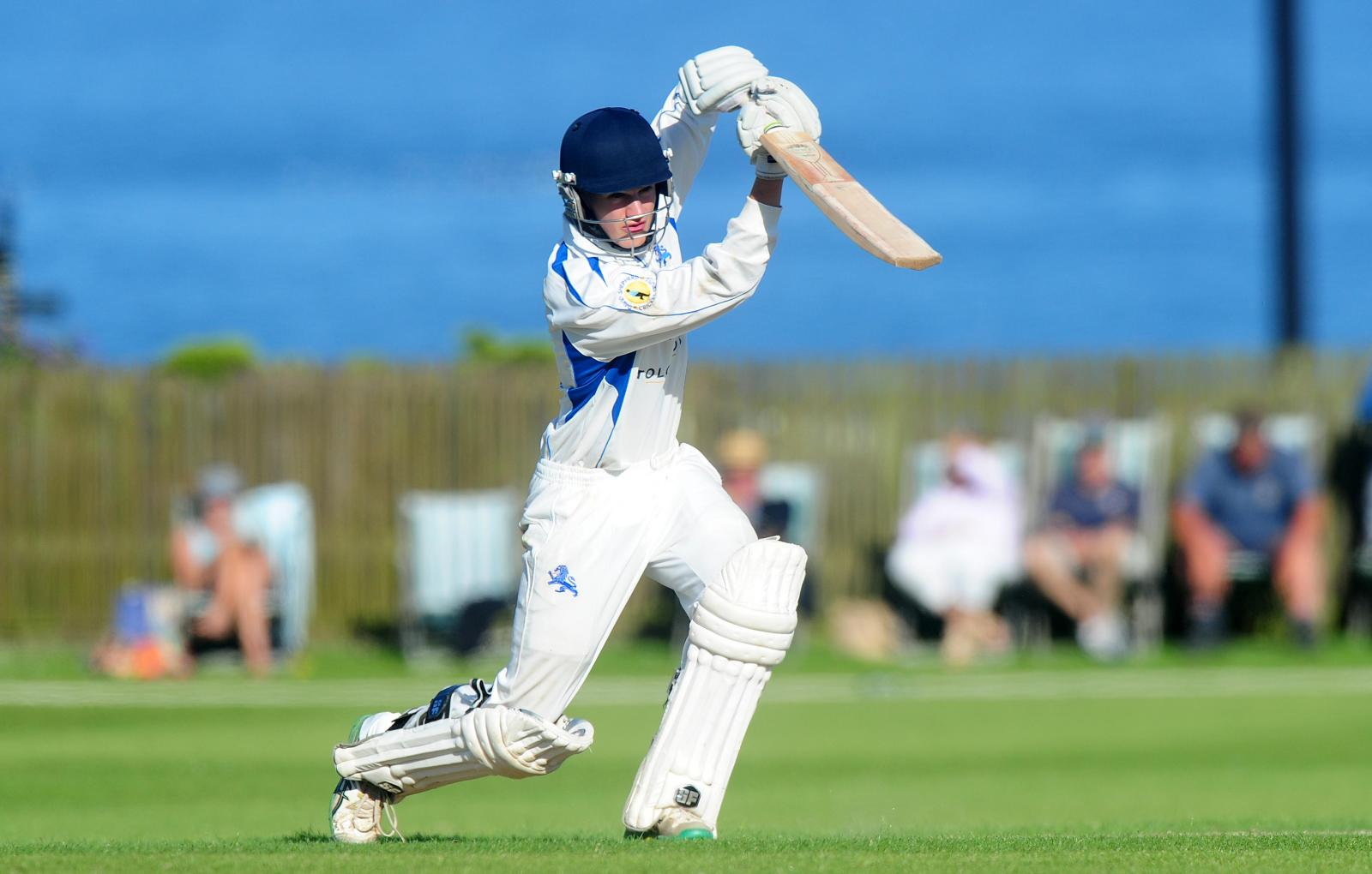 Tom Ansell - 77 and 22 on his Devon debut