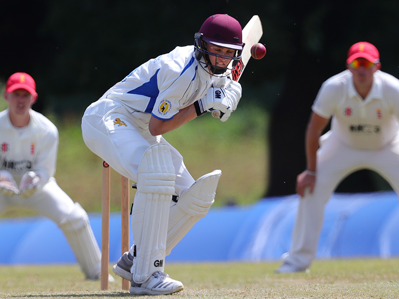 Tom Lammonby batting for Devon against Wales at Sandford<br>credit: https://www.ppauk.com/photo/2001352/