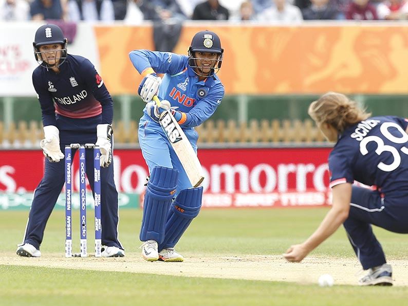Smriti Mandana, the Indian international who has signed for Western Storm and is expected to play against Marcus Trescothick
