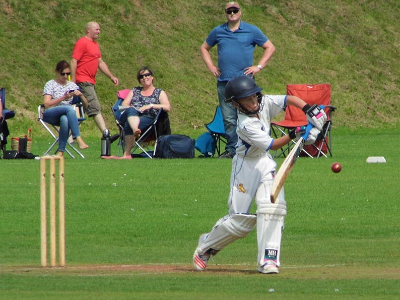 Morgan Couch - 35 for Devon U11s against Dorset