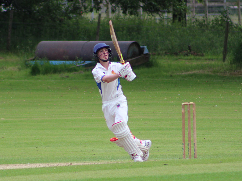 James Hayter hits out against Somerset