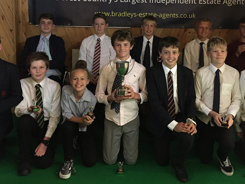 Heathcoat Under-13s, who won the Bradleys East Devon Youth League title for their age group in 2018