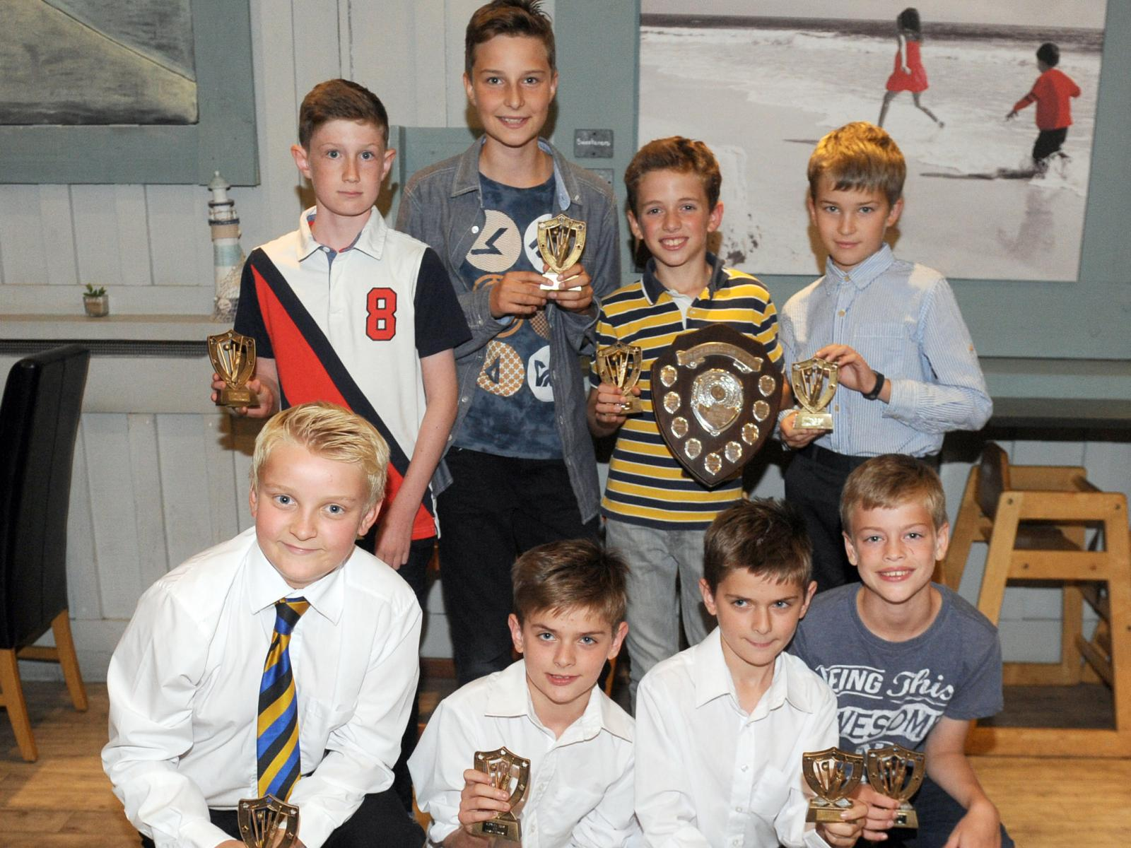Ottery St Mary, who won the U11 Division