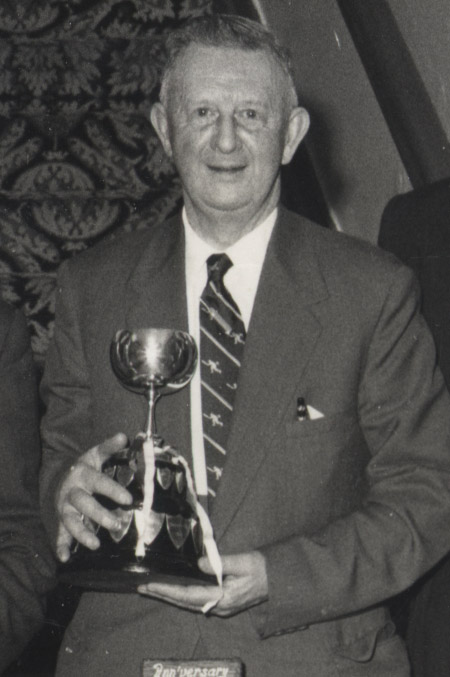 Reg Treeby - Brockman Cup secretary in 1946