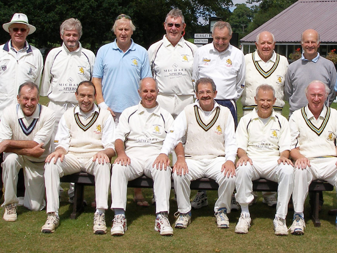 Devon seniors in 2011 - Stuart Munday is third from the left at the back