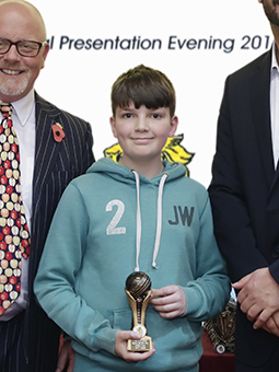 Paignton's Jed Waugh, who topped the bowling averages in last season's under-14 division of the  Wollen Michelmore South Devon League